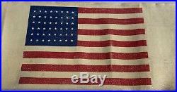 Original Wwii Us Army Airborne Invasion Paratrooper Brassard American Flag