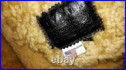 PILOT-BOMBER, B3 ww2 style sheepskin jacket, made USA. Best conditions