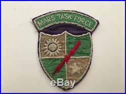 Pk153 Original WW2 US Army CBI 5307th Merrill's Marauders Patch Ribbon WA11