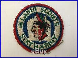 Pk53 Original WW2 US Army Alamo Scouts Sixth Army Taken Off Jacket WC10