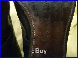 RARE Genuine Original 1940s WW2 British Army Womans black RAF BATTLE DRESS BOOTS