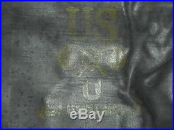 Rare Original U. S. Army M7 Assault Gas Mask Bag Waterproof D Day WWII