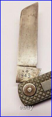 Rare WW2 British Navy Army Jack Knife J. Rodgers & Sons Sheffield England 1943
