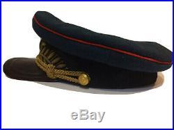 Russian Soviet army uniform cap. Original. 1941 WW-2