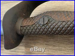 Russo-Japanese M1899 Type 32 Army NCO Sword & Scabbard Matching #s WW1 & WW2