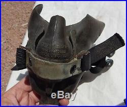 SUPER RARE! WW 2 US Army Air Forces Pilot Original A-15-A Oxygen Mask, 1945