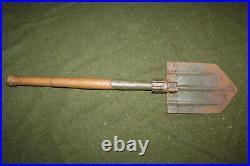 Scarce Original WW2 German Army Soldiers Folding Entrenching Tool, Shovel