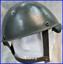 Scarce WW2 Italian Army Model 1942 paratrooper uniform steel helmet Italy