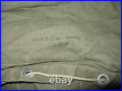 Scarce WWII US Army USMC, M-1943 Pack, JUNGLE PACK, Dated 1943
