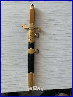 Soviet Ussr Army 100% Original Navy Dagger Kortik Sword Ww2 Military