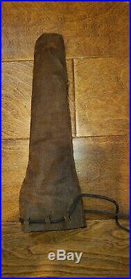 Tsuka Handle sword Cover Gunto WW2 Japanese Army Katana Leather BAG ONLY