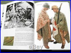 U. S. ARMY RARE ORIGINAL 1944 WWII U. S. M. C. FROG CAMO REVERSIBLE PONCHO used
