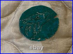 US Army 104th Infantry Division Wool Patch Timberwolves 1930s WW2 Original