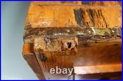 US WW2 Army Ordnance Marked Wooden Ammo Ammunition Crate 210 Linked. 50 Cal