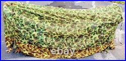 Us Wwii Usmc & Army Tropical Camo Mosquito Bar (net) For Cots