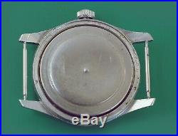 Vintage 1940's WWII Military DOXA All Stainless Army Watch ORIGINAL DIAL