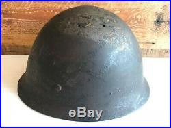 Vintage Imperial Japanese Army Helmet WW2 WWII original from JAPAN