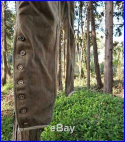 Vintage Imperial Japanese Army Wool pants WW2 WWII original from JAPAN
