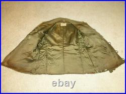 Vintage US Militaria WW II US Army Field Coat Jacket Liner m 43 Sz 44
