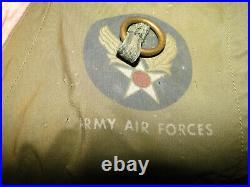 Vintage WW II US Army Air Corp Emergency Sustenance Survival Vest Type C-1 Sz M
