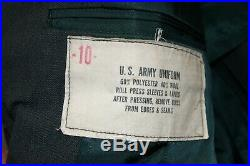 Vintage WW2 Army USAAF Pilot Officers Uniform Jacket Pins Patches