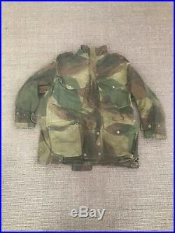 Vintage WWII 1940s British Army Paratrooper 1/2 Zip Denison Smock