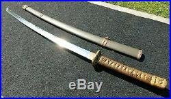 Vintage WWII Japanese Army Officer's Samurai Sword Rare MUST SEE