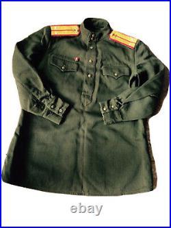 WW-2 Original Soviet Russian uniform tunic straps RED ARMY soldier 1943