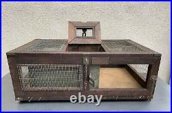 WW II U. S. Army Signal Corps PG-50 Bird Cage Pigeon Carrier