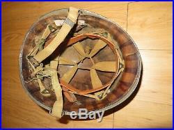 WW II US Army Combat Helmet With Liner Original