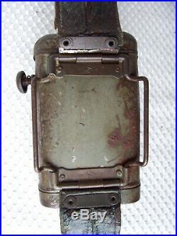WW1 WWI WW2 WWII Militaria Original GERMAN ARMY SIGNAL FLASHLIGHT