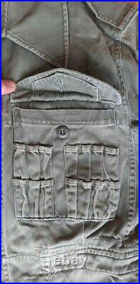 WW2 British original tankers overalls suit small sized