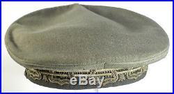 WW2 Original Italian Army Lieutenant General's Peaked Cap