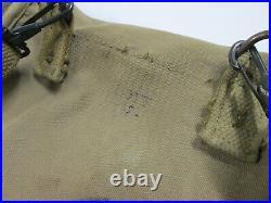 WW2 U. S. ARMY Canvas M1938 Map & Dispatch Case with Strap US Boyt -42-