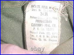 WW2 U. S. Army M-43 Field Jacket