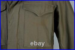WW2 U. S. Army M1943 Field Jacket Size 34s 1943 Deadstock Condition WWII M43