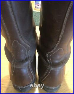 WW2 US Army paratrooper Calvary Military Combat Boots