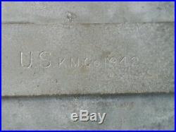 WW2 USMC Army ETHOCEL Canteen GI General Industries 1943 Rare