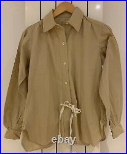 WW2 WLA Womens Land Army Shirt 1944 Size 2 x 100% Original