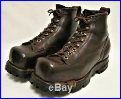 WW2 WWII U. S. Army 10th Mountain Ski Boots Size 8 1/2 Original Great Condition