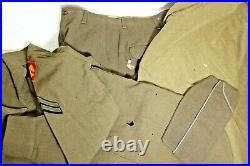 WWII ID'd 45th Infantry Division Army Personal Battle Hero Lot WW2 Grouping