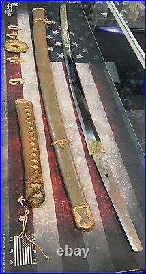 WWII JAPANESE TYPE 98 ARMY SHIN-GUNTO SWORD, Lot #1, Free Shipping