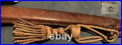 WWII Japanese Army officer's samurai sword antique 37 Authentic Marked