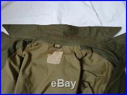WWII M-1943 Field Jacket Pattern B 1944 Size 36R OD Green US Army Original