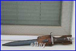 WWII Original Austria-Hungary Army Bayonet M95