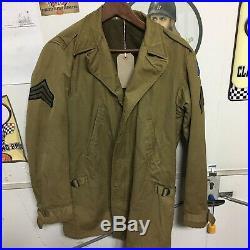 WWII Original US Army, Jacket, Field, OD, Arctic