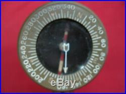 WWII Original US Army Wrist Paratrooper Compass Superior Magneto Corp NY. 1944