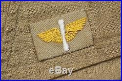 WWII U. S. ARMY AIR CORP CBI BUSH JACKET THEATER MADE withORIGINAL INSIGNIA