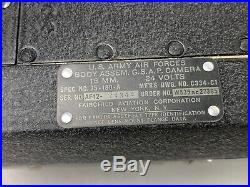 WWII US Army Air Forces 16mm Aircraft Gun Camera In Original Box