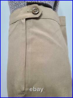 WWII WAC Women's Army Corps Khaki Summer Uniform Jacket & Skirt 10R Original
